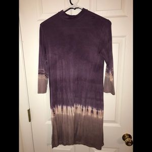 purple ombré tye dye dress!